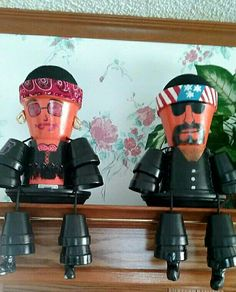 Terra Cotta Pot Bikers
