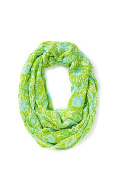 Lilly Pulitzer Riley Infinity Loop Scarf in Sunnyside
