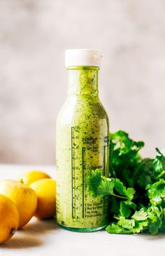 Creamy and refreshing avocado cilantro lime dressing. Great for dipping veggies and topping off any salad. Dairy free, paleo, whole30 friendly. Made in minutes in the blender or food processor. Whole30 dressing. Whole30 dressing recipes. Whole30 salad. Whole30 easy recipes. Whole30 lunch ideas. Whole30 meal prep. Whole30 shopping list. Whole30 dinner recipes. Easy whole30.