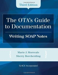 documentation manual writing soap notes occupational therapy