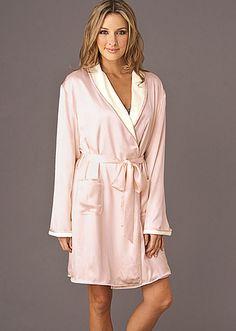 0287225a04 Il Cieli Spa Wrap - Short Spa Robe