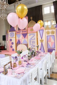 It's A Small World Birthday Party | Dream Flavours Celebrations #dreamflavours