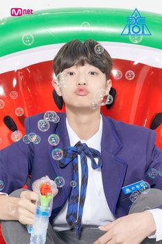 The fourth instalment of South Korea's most phenomenal reality survival show, 'Produce Produce X Mnet's latest boy group survival show - trainees' p. Dsp Media, Love U Forever, Korean Boy Bands, Produce 101, Boy Groups, Profile, Songs, Ayato, Wattpad