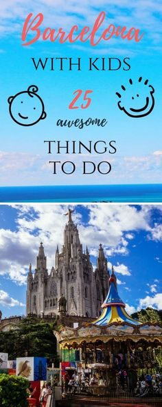Barcelona is an amazing city that can offer pretty much everything for all types of travelers. Here are the best things to do in Barcelona with kids! Travel Party, Food Travel, Travel Tips, Travel Photos, Travel Ideas, Travel Icon, Travel Hacks, Travel Packing, Camping Hacks