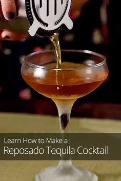 Reposado Tequila Cocktail Recipe