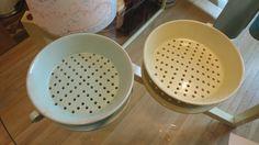 Beautiful ceramic colanders