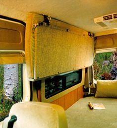 Sprinter DYO 7 Bunks and Platform Beds - Sportsmobile Custom Camper Vans