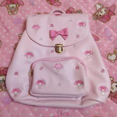 ଘ マイメロ ଓ Baby Pink Aesthetic, Red Aesthetic, Aesthetic Pictures, Aesthetic Clothes, Kawaii Bags, Kawaii Clothes, Hello Kitty My Melody, Little Kitty, Kawaii Fashion