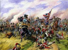 2/69th (South Lincolnshires) in dire straits @ Quatre Bras against Kellerman's cuirassiers.