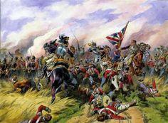 2/69th (South Lincolnshires) in dire straits @ Quatre Bras against Kellerman's cuirassiers.
