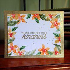 Kindness gold card