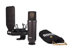 Rode Nt1kit Condenser Microphone Cardioid, 2015 Amazon Top Rated Microphones #MusicalInstruments