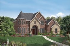 Image Stone And Brick Exterior French Country Home Visit Zillow Com Additional House Ideas