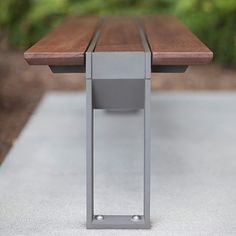 Our Apex Bench has design details down to a T