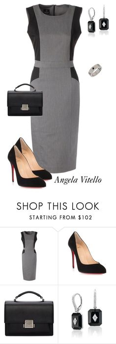 Untitled #1000 by angela-vitello on Polyvore featuring Christian Louboutin and Yves Saint Laurent