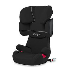 A top-rated booster seat in Europe, the Cybex Solution X-Fix places your child in the lap of safety and comfort. Seat back offers 11 different height adjustments to keep occupant's head, neck, and shoulders well protected in a side impact collision.