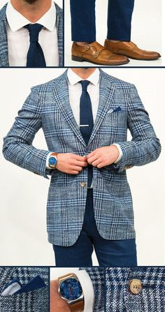 Here's the proper way to wear a suit