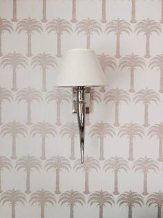 Add a touch of chic to your decorating scheme with Marrakech Palm wallpaper by Barneby Gates. Click link to buy