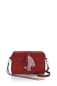 Mini Sofia Crossbody - Those tassels? Total street style bait. Made of the classic RM leather you know and love, this zip-top bag comes with a crossbody strap that clips on and off custom gold hardwear. Go strapless and you've got an instant party clutch in your hands.