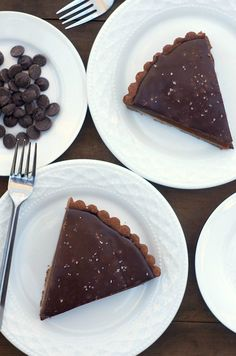 Chocolate Caramel Tart