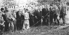 Nikola Tesla at Wireless Telephone Demonstration, 1902  Wish so much that this image was larger. Seeing him in context with his contemporaries, he's not any better dressed or really even sharper (tho' better put together, more finished).