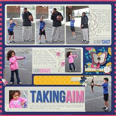 Taking Aim by Misty Cato using Words and Pictures Templates