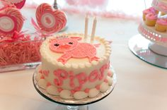 """Photo 14 of 47: 2nd Birthday Party / Birthday """"Piper's Pink Piggie Princess Party"""" 