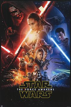 [ STAR WARS: EPISODE VII - THE FORCE AWAKENS POSTER ]