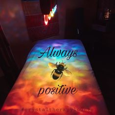 Always be positive. Always Be Positive, Hungary, Therapy, Lounge, Positivity, Crystals, Bed, Cover, Airport Lounge