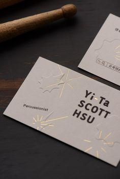 Scott Hsu on Behance Business Stationary, Business Card Design, Creative Business, Buissness Cards, Name Cards, Name Card Design, Creative Names, Typographic Design, Paper Crafts For Kids