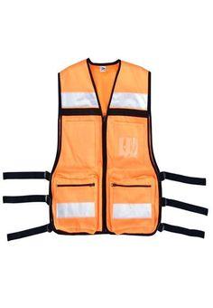 Orange EMS Rescue Vest Man Quilt 2f2301921