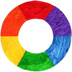 color / colour circle by eric carle