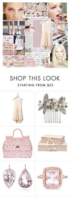 """Soft. . ."" by ioannaaa ❤ liked on Polyvore featuring Prada, Steve Madden, Cotton Candy, Balenciaga, Nina, Dolce&Gabbana, Nina Campbell, Renee Lewis, Glacier Jewellery and Gianna Rose Atelier"