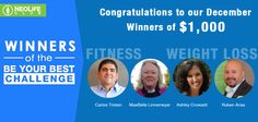Join the fitness challenge and become a WINNER! Neolifeclub.com/sharonwarner for more information