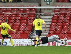 The Bristol City goalkeeper making save after save!