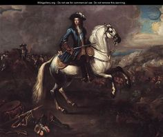 William III At The Battle Of The Boyne - Jan Wyck