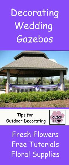 Romantic Gazebo Altar At Gaillardia Country Club Wedding Design By
