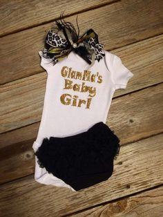 Glamma's Baby Girl! Sweet & sassy! #Glamma #Baby