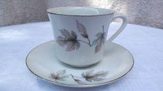 SEYEI Everyday Autumn Leaves 4970 - Teacup and Saucer - Fine China Japan Tea Cup