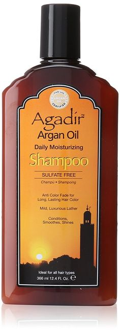 Agadir Argan Oil Daily Moisturizing Shampoo, 12.4 Ounce >> See this awesome image  : essential oils