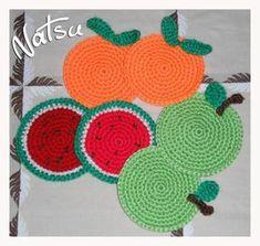 Posavasos frutas