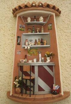Reciclado de sartenes viejas para relojes de cocina ideas para reciclar y decorar pinterest - Accesorios para decorar tejas ...