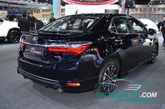 Toyota Corolla Altis ESport 2017 có chiều dài 4.620 mm