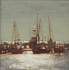 Kim English More Boat Painting, Sketch Painting, Light Painting, Kim English, Landscape Art, Landscape Paintings, English Artists, Impressionist Art, Coastal Art