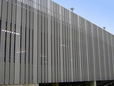 We offer various decorative metal panels for architectural purposes. There are perforated metal sheet, expanded metal sheet, safety grating and aluminum fabrication. Cladding Design, Metal Cladding, Exterior Cladding, Perforated Metal Panel, Metal Panels, Metal Shutters, Galvanized Steel Sheet, Aluminum Fabrication, Parking Building