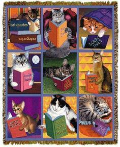 Cats read too!