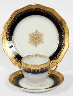Unique Antique Limoges Dessert Cup U0026 Tray (item #1132524) | Limoges |  Pinterest | Dessert Cups And Trays