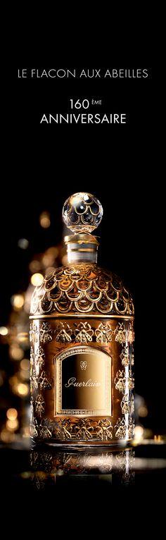 Le flacon aux Abeilles Guerlain, 160ème anniversaire.