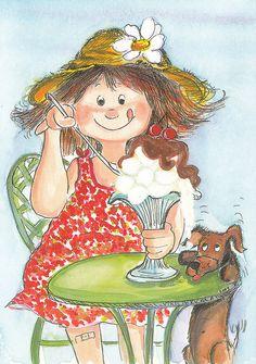 Jäätelökesää...  (A nice summer ice cream)