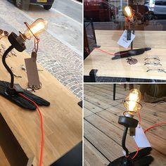 Création LIKE FRED lampe de table